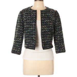 Derek Lam 10 Crosby Long-Sleeve Tweed Jacket
